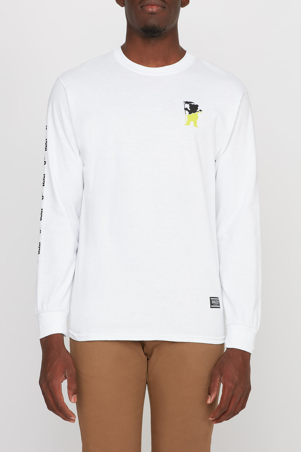 Grizzly Guys Bear Long Sleeve Tee