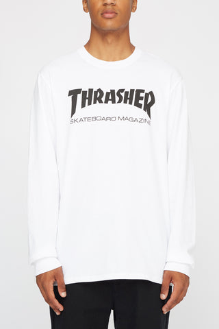 Thrasher Mens Skate Mag Long Sleeve Tee