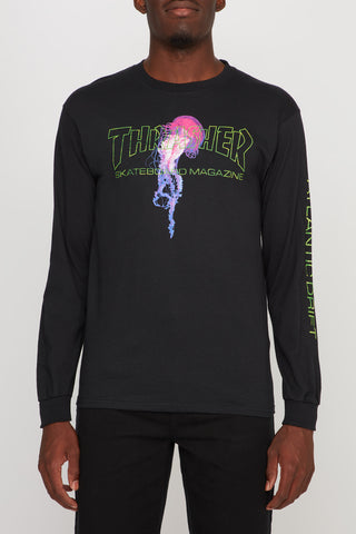 Thrasher Men's Atlantic Drift Long Sleeve Tee
