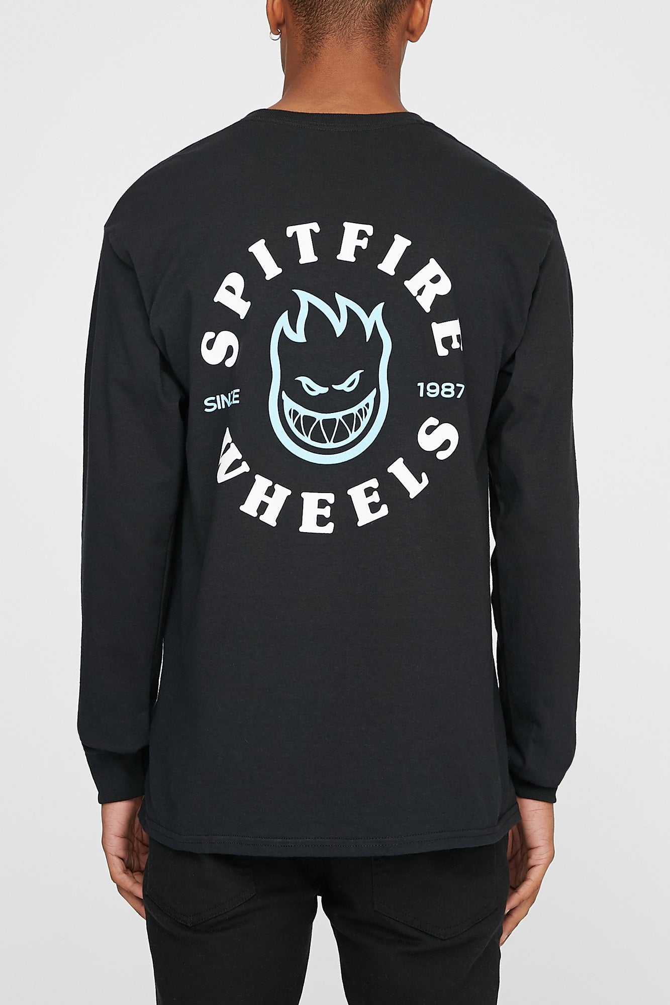 Spitfire Mens Black Long Sleeve Tee