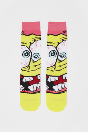 Odd Sox Mens Have A Nice Day Crew Socks