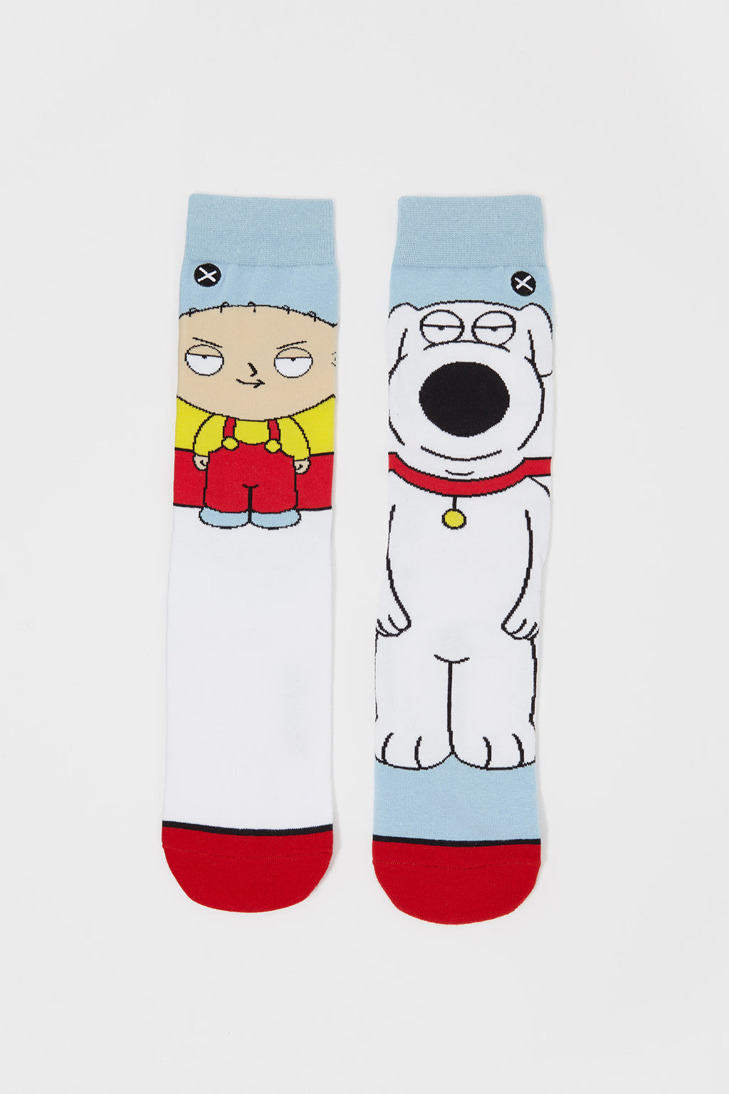 Odd Sox Mens Family Guy Crew Socks