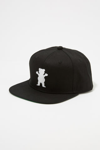 Grizzly Guys OG Bear Black Snap Back