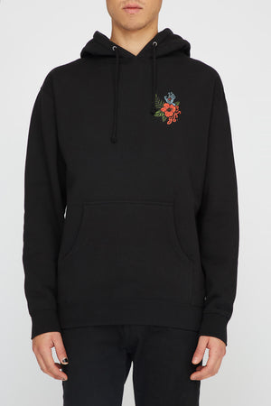 Santa Cruz Mens Vacation Dot Black Hoodie