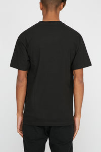 Grizzly Mens Storm Front Black T-Shirt