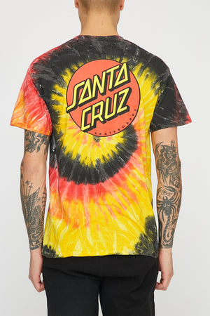 Santa Cruz Mens Classic Dot Kingston T-Shirt