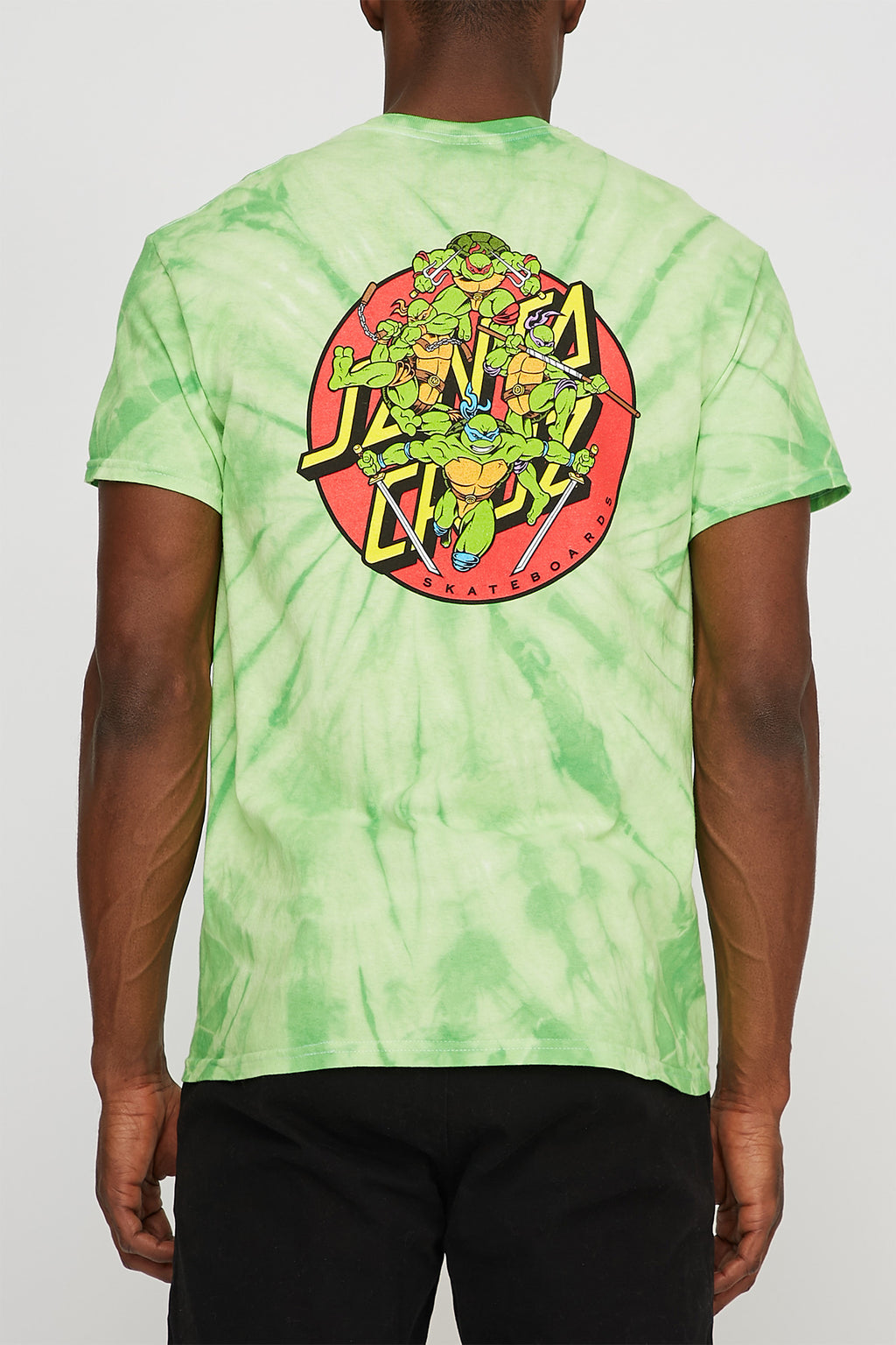 Ninja Turtles x Santa Cruz Tie Dye T-Shirt