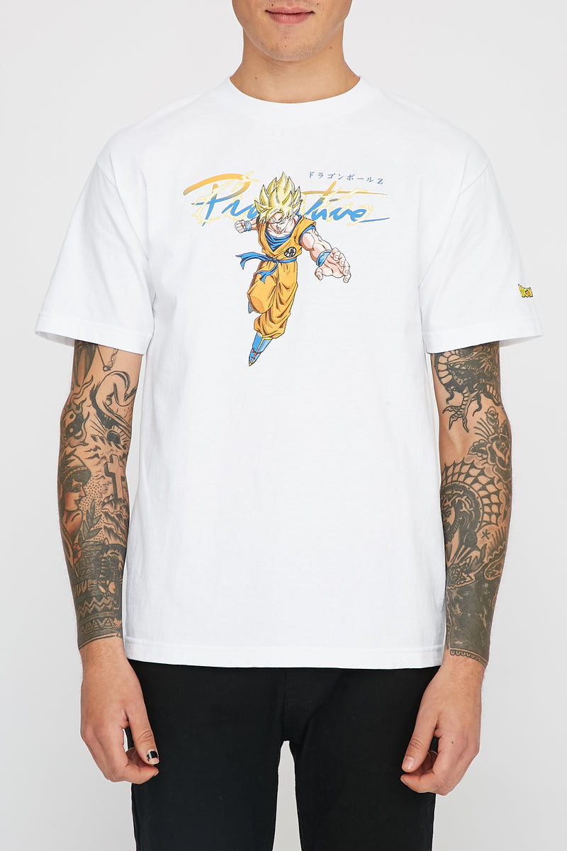 Primitive x Dragon Ball Z Super Saiyan Goku T-Shirt