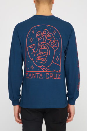 Santa Cruz Mens Gateway Hand Long Sleeve