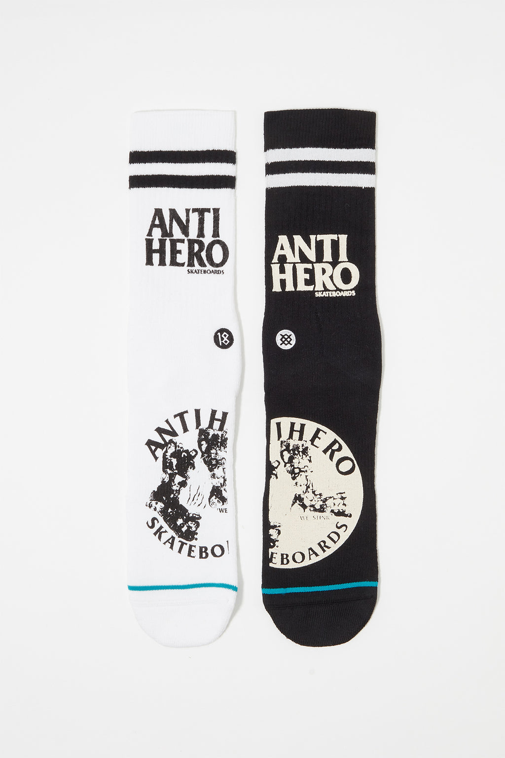 Stance Mens Anti Hero Crew Socks