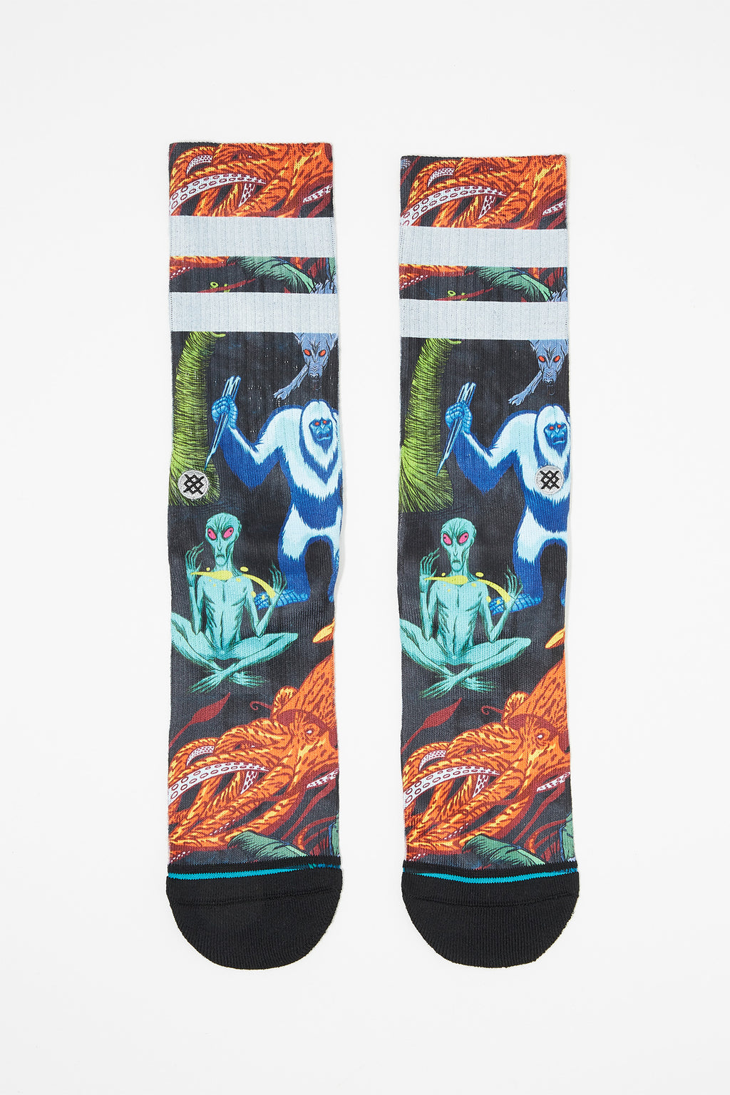 Stance Mens Predator Legends Crew Socks