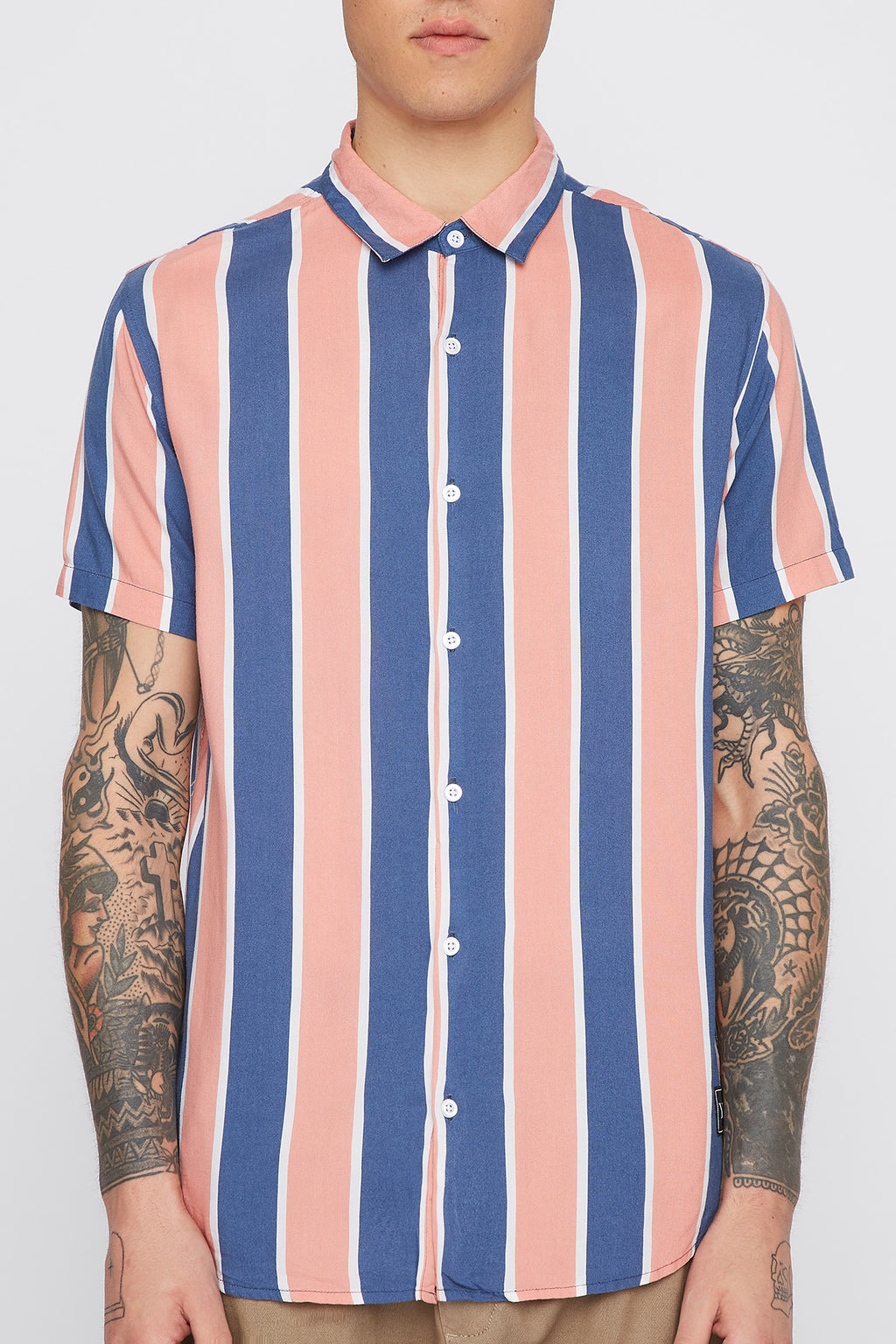 Young & Reckless Mens Vertical Stripe