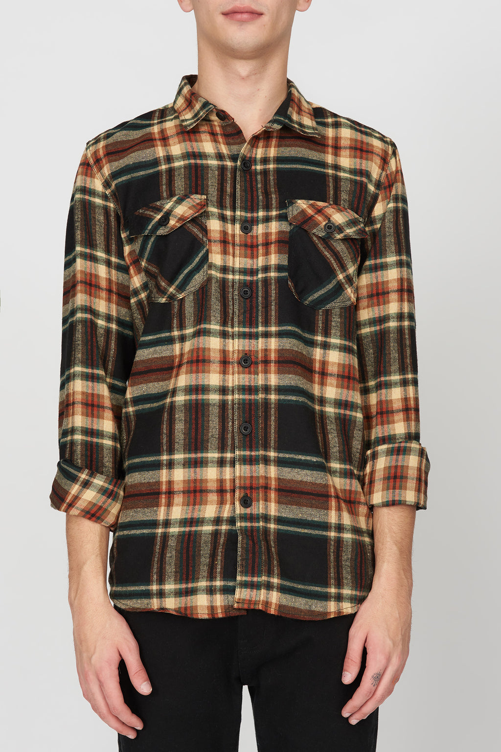 West49 Mens Plaid Shirt