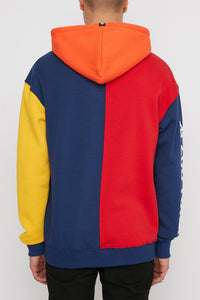 Zoo York Mens Color Block Hoodie