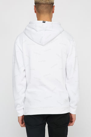 Zoo York Mens Contrast Colour Hoodie