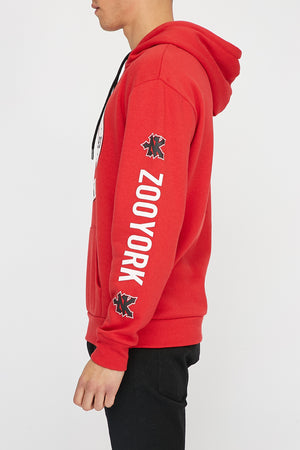 Zoo York Mens Circle Logo Hoodie