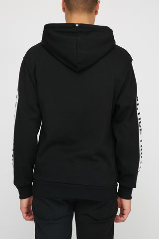 Zoo York Mens Sleeve Graphic Popover Hoodie