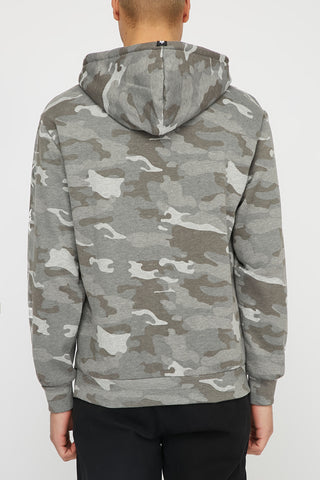 Zoo York Mens Camo Graphic Popover Hoodie