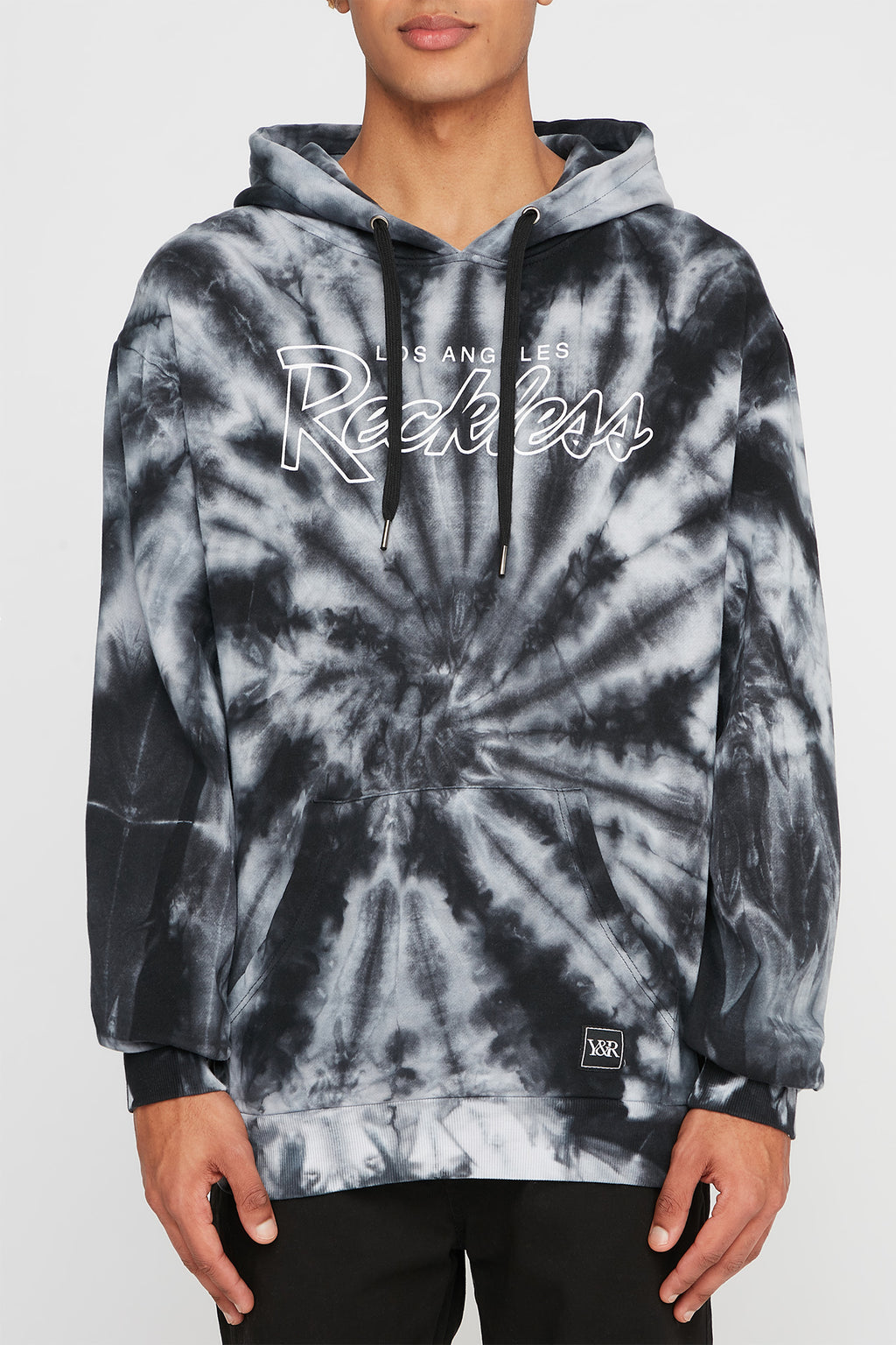 Young & Reckless Mens Swirl Tie Dye Hoodie