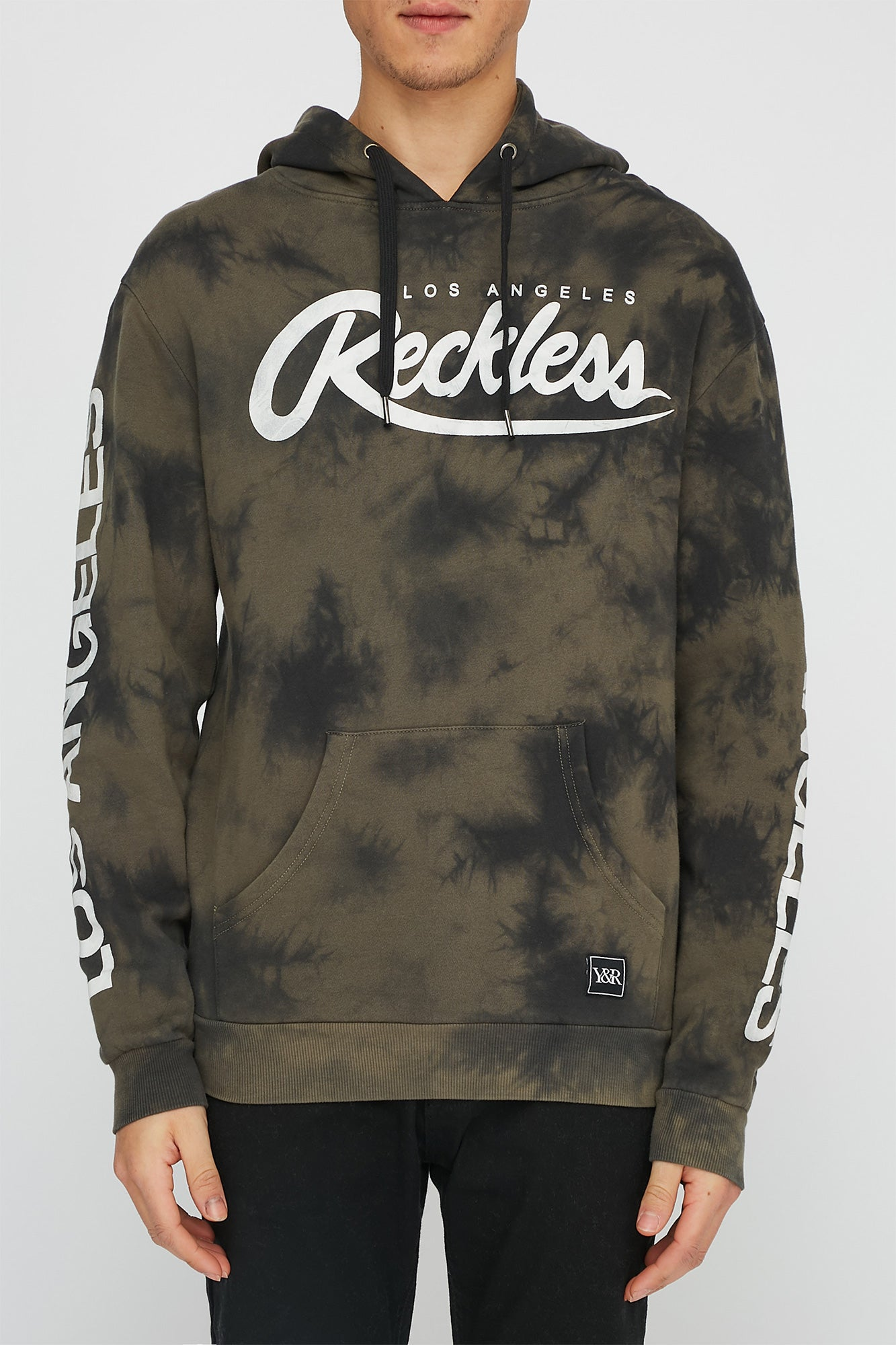 Young & Reckless Mens Tie Dye Hoodie