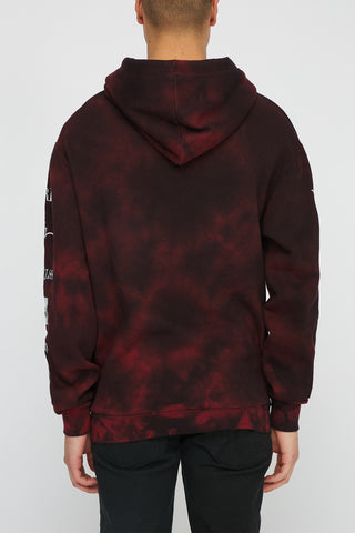 Young & Reckless Mens Tie Dye Popover Hoodie