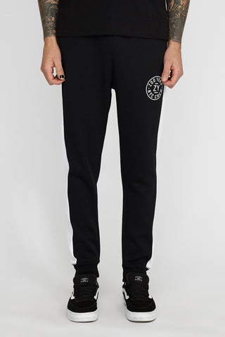 Zoo York Mens White Side Seam Jogger