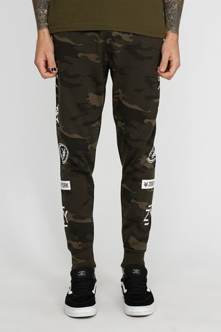Zoo York Mens Camo Graphic Jogger