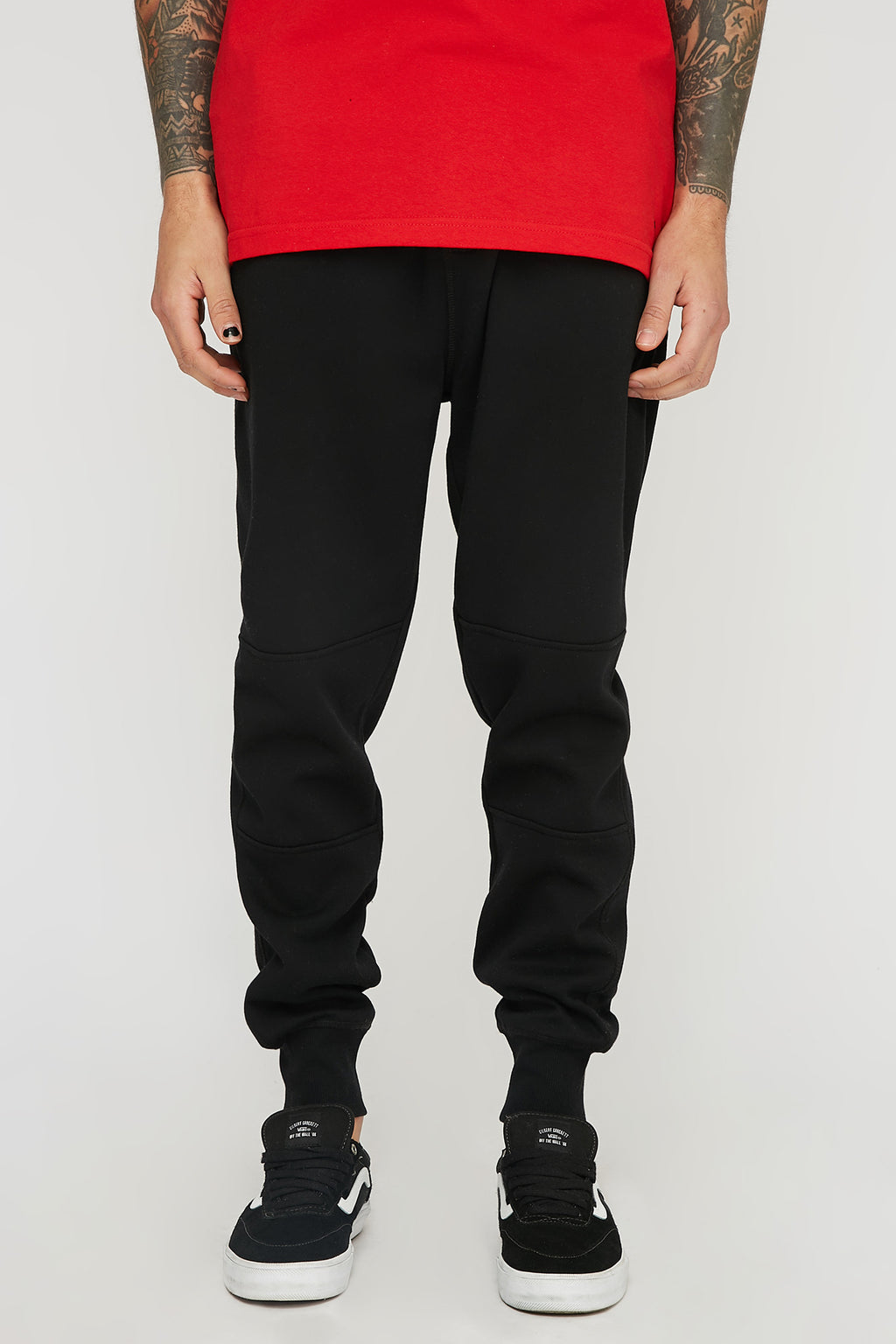 West49 Mens Zipper Pocket Jogger