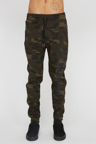 Zoo York Mens Camo Zip Pocket Jogger