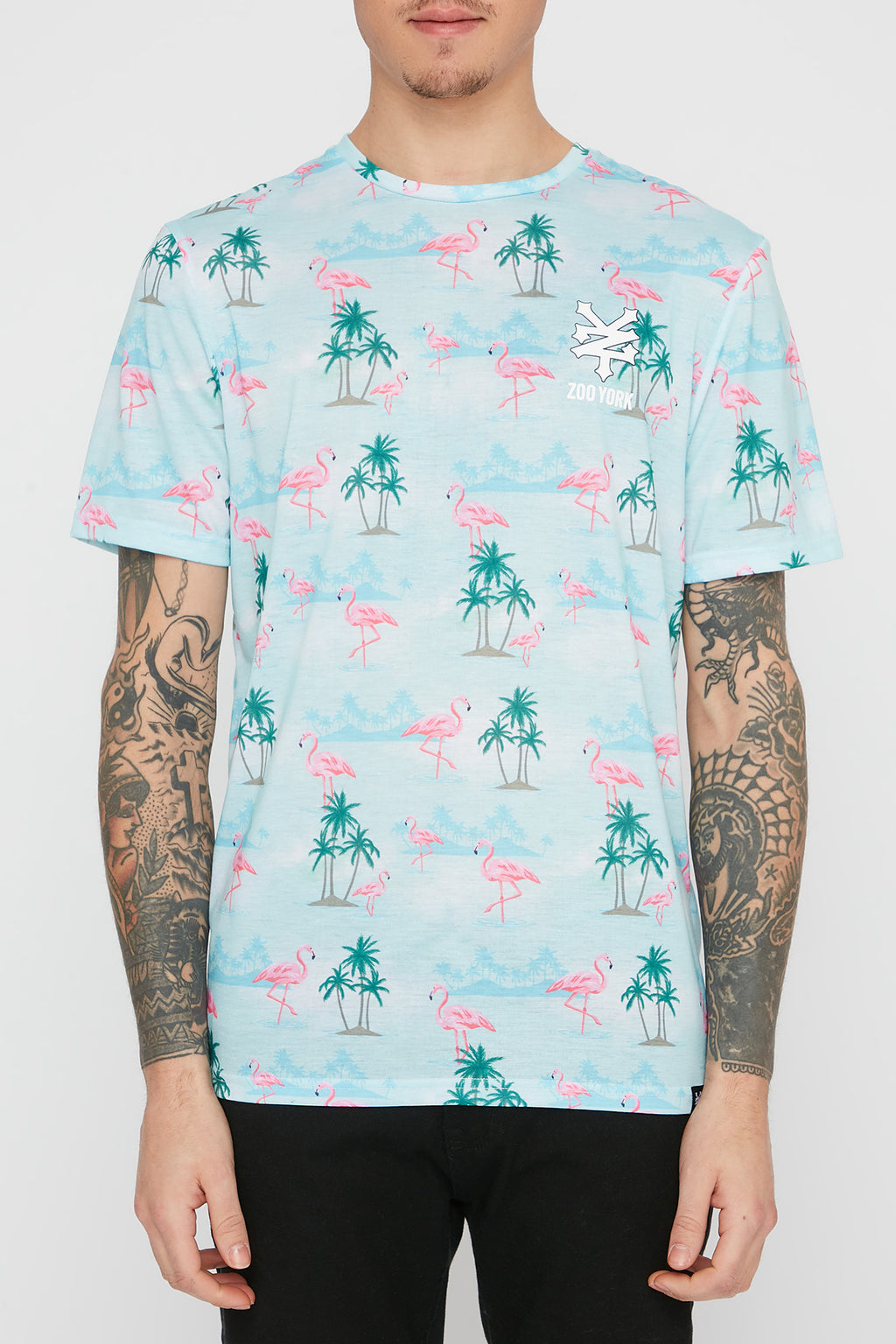 Zoo York Mens Flamingo T-Shirt