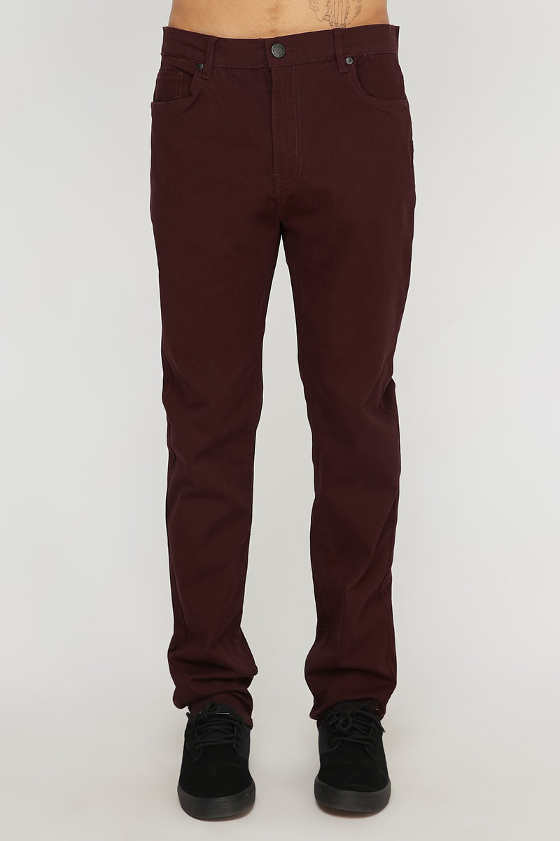 West49 Mens 5-Pocket Skinny Pants