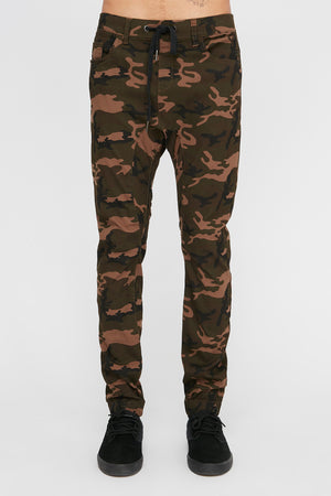 Zoo York Mens Camo 5-Pocket Jogger