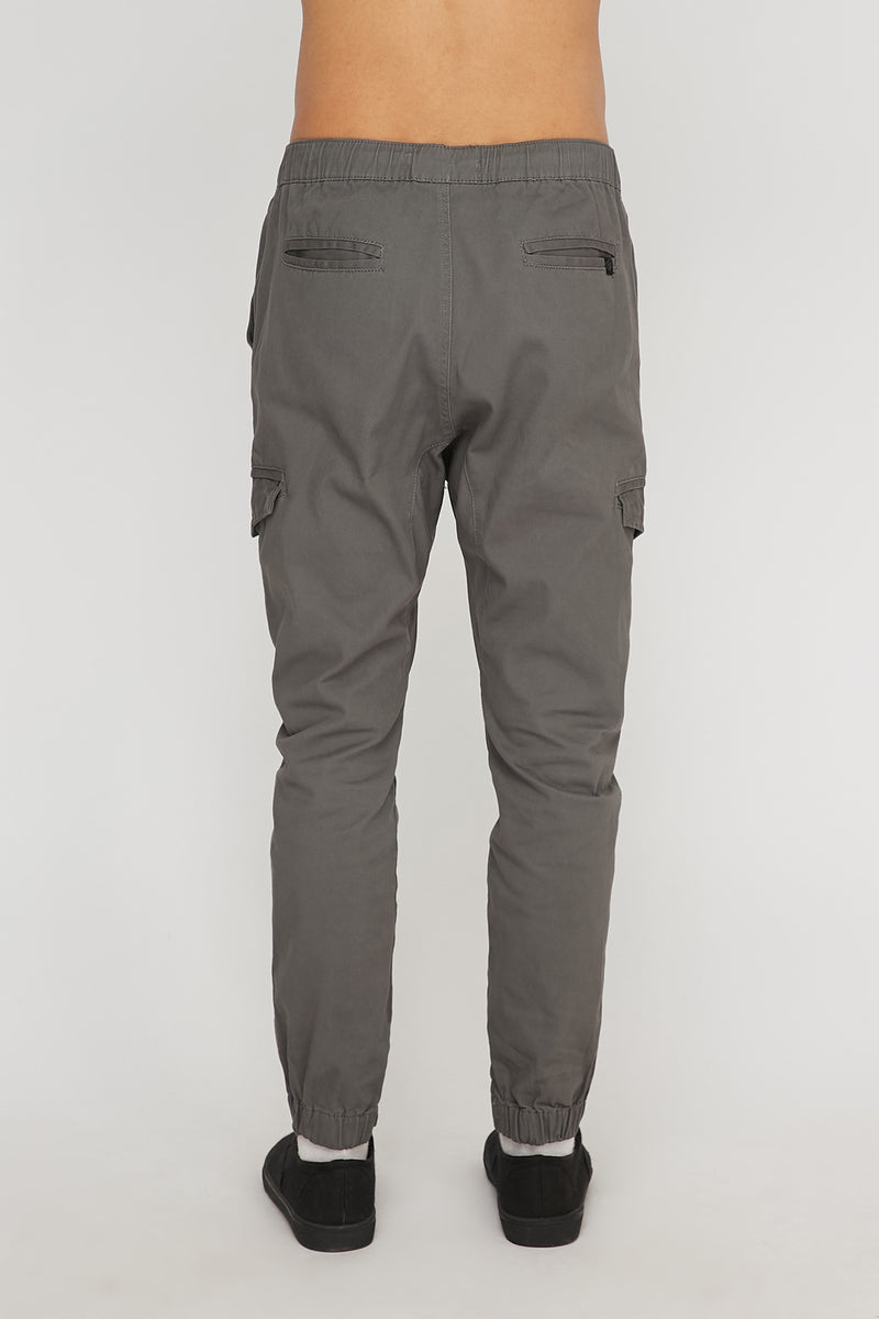 West49 Mens Twill Cargo Jogger