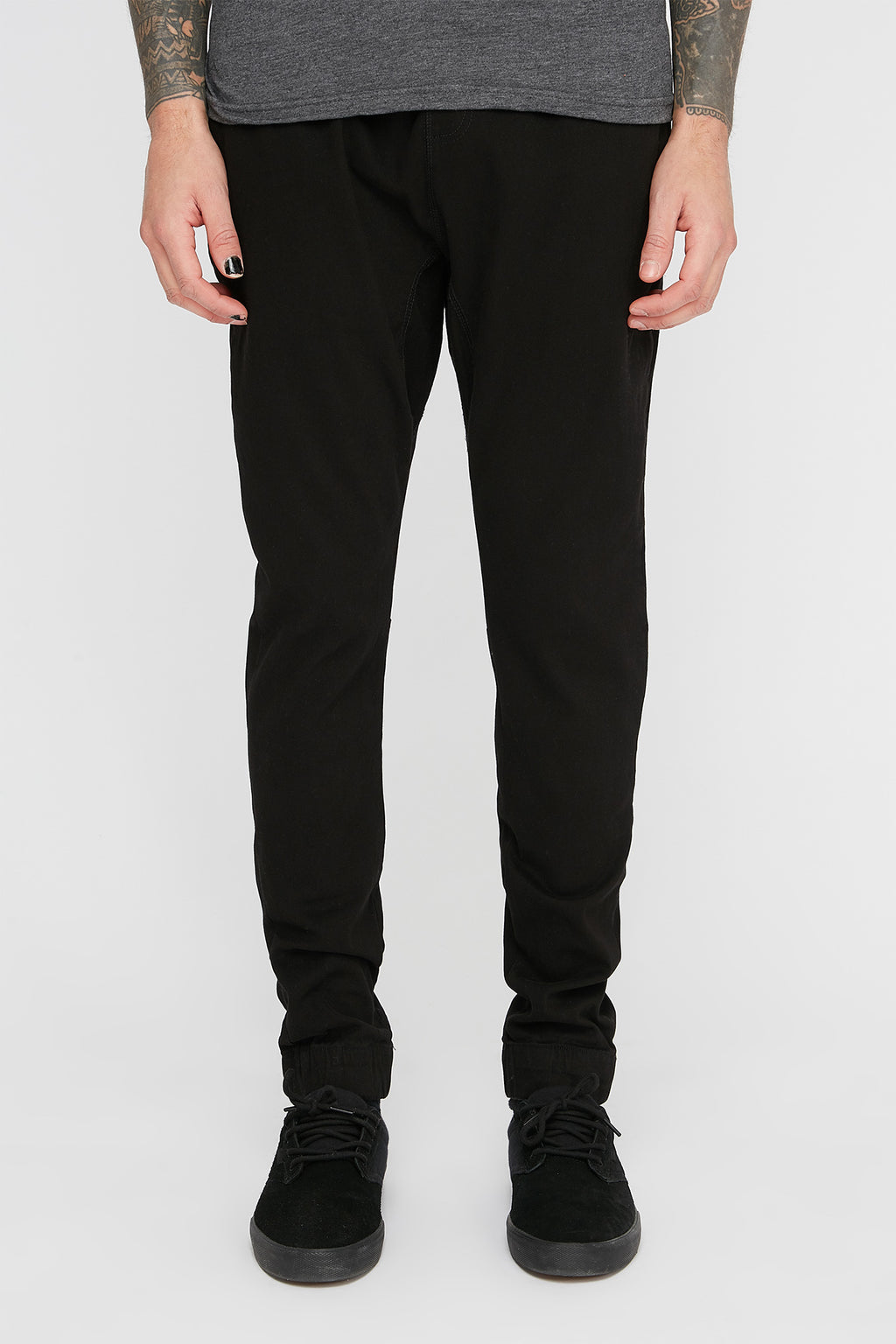 West49 Mens Twill Jogger