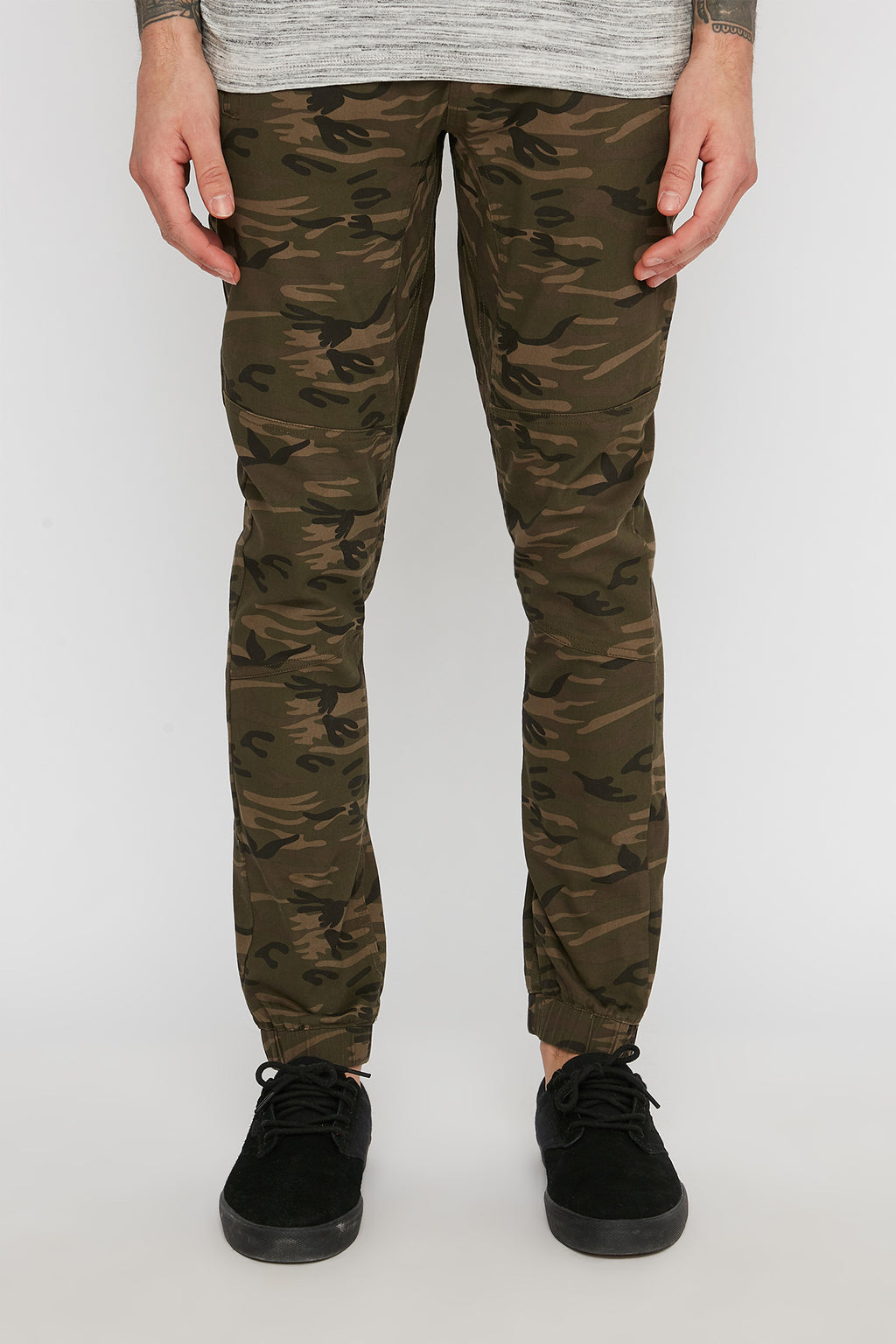 Zoo York Mens Twill Camo Jogger