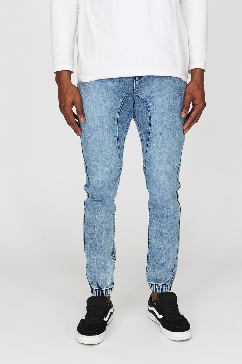 Zoo York Mens 5-Pocket Denim Jogger