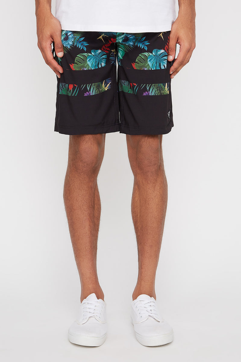 West49 Mens Floral Board Shorts
