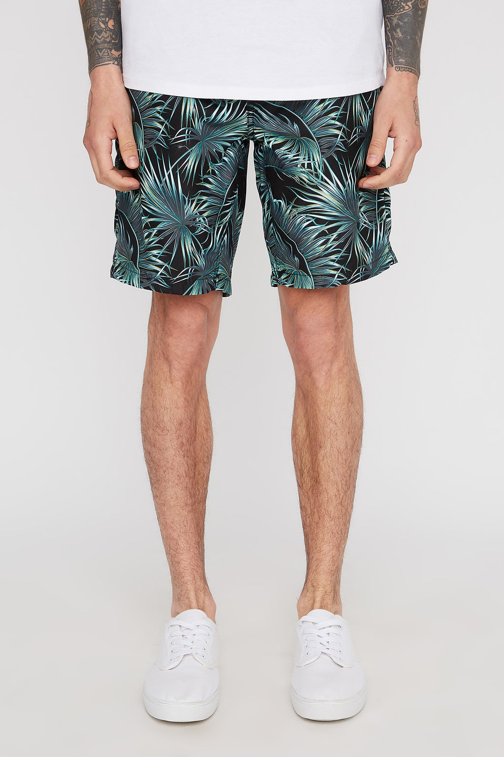 West49 Mens Graphic Hot Tub Shorts