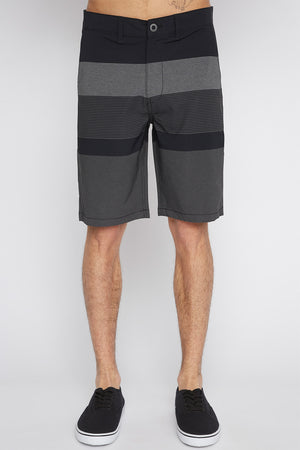 West49 Mens Striped Submersible Shorts