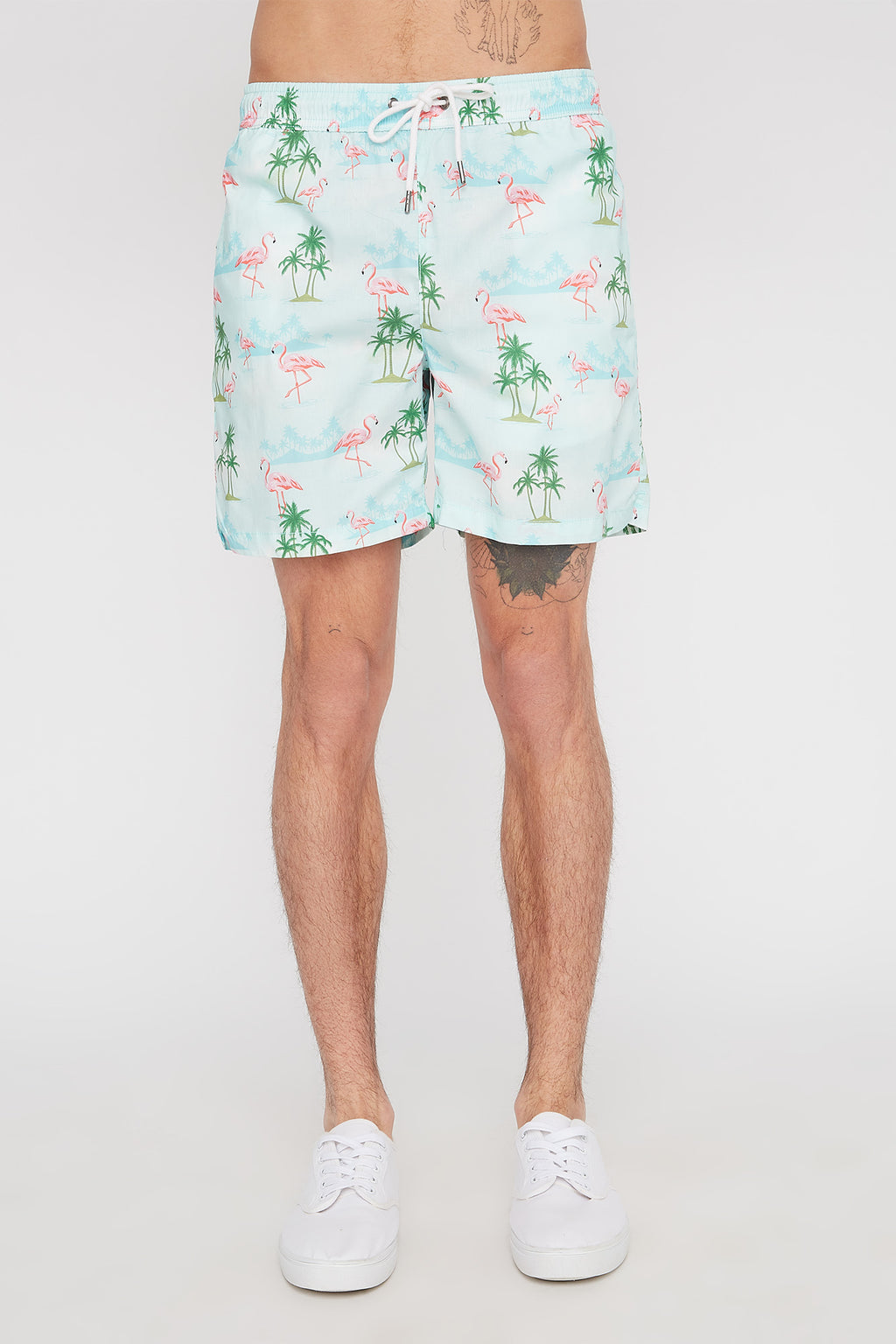 Zoo York Mens Flamingo Board Shorts