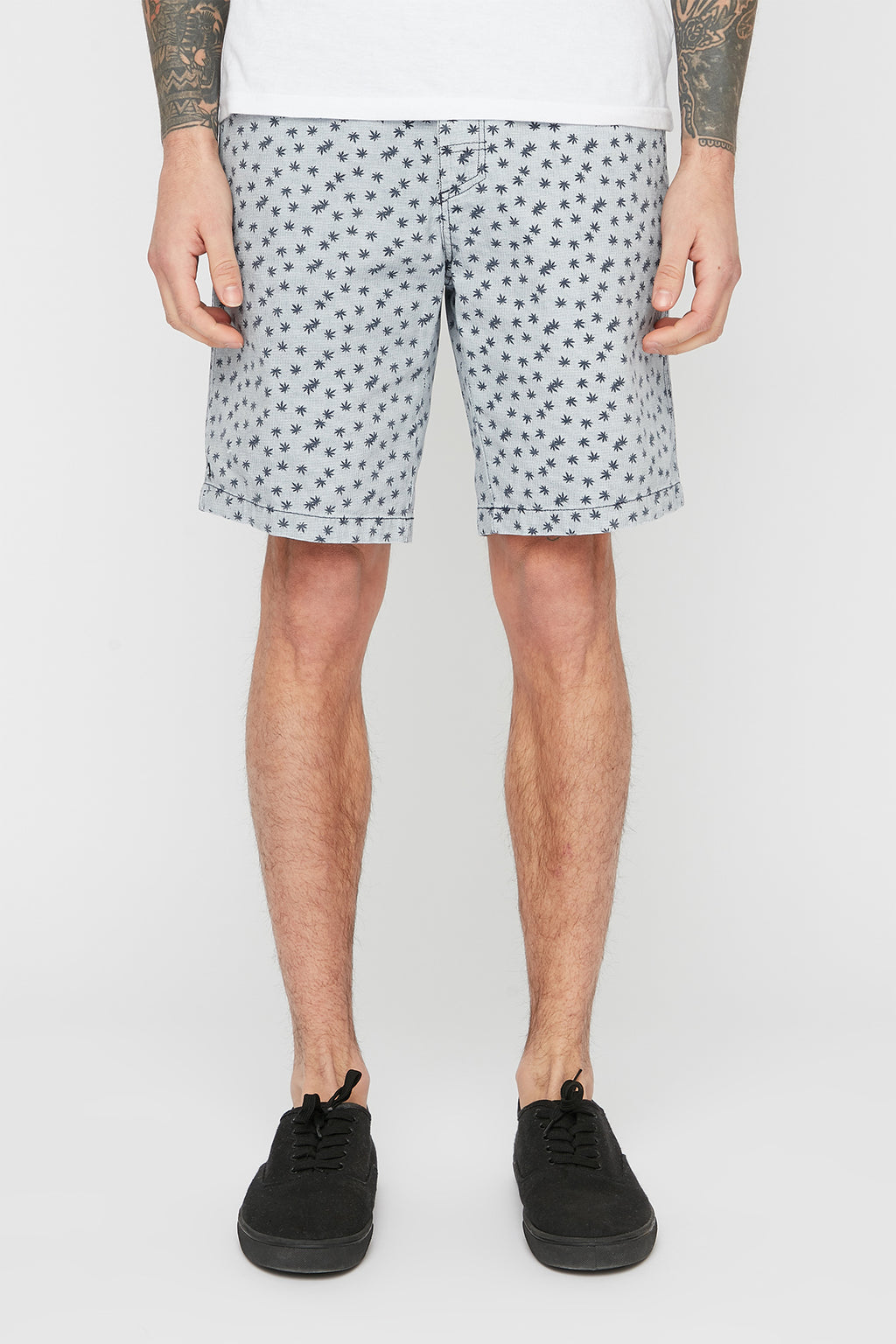 West49 Mens Leaf Pattern Short