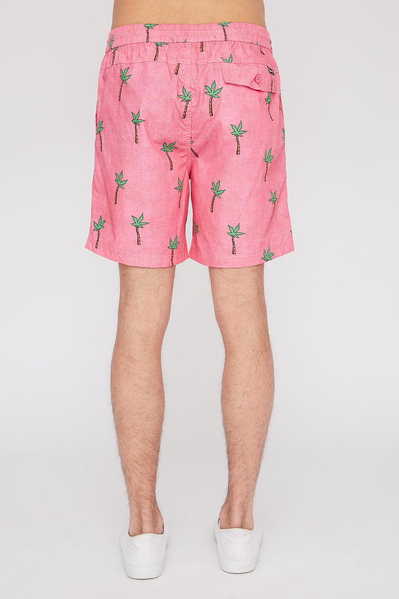 West49 Mens Fun Graphic Pull-On Beach Shorts