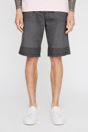 West49 Mens Striped Skate Shorts