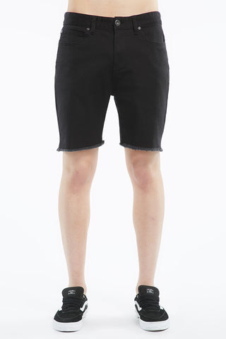 West 49 Mens Relaxed Frayed Hem Shorts