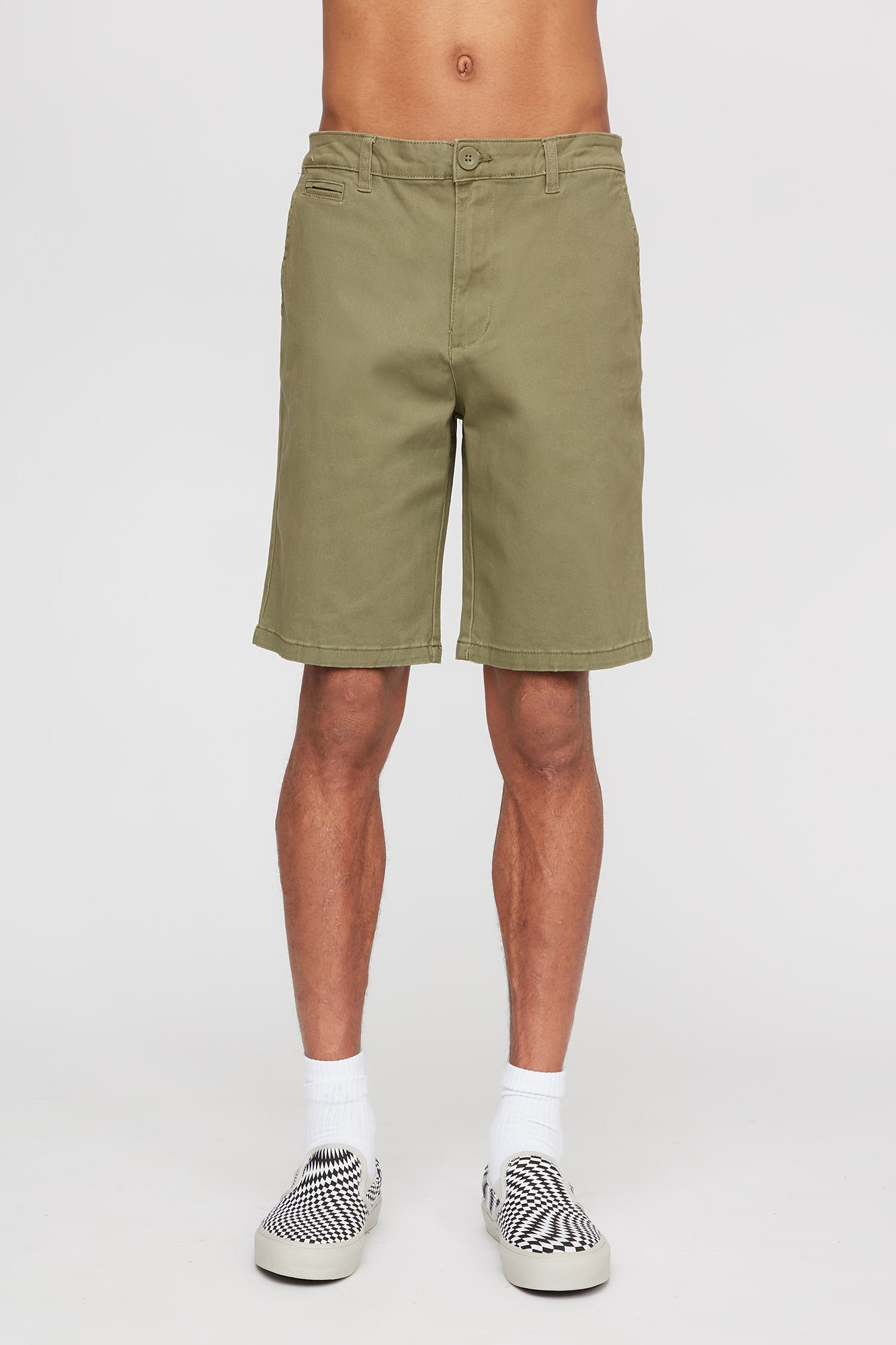 West 49 Mens Chino Relaxed Shorts