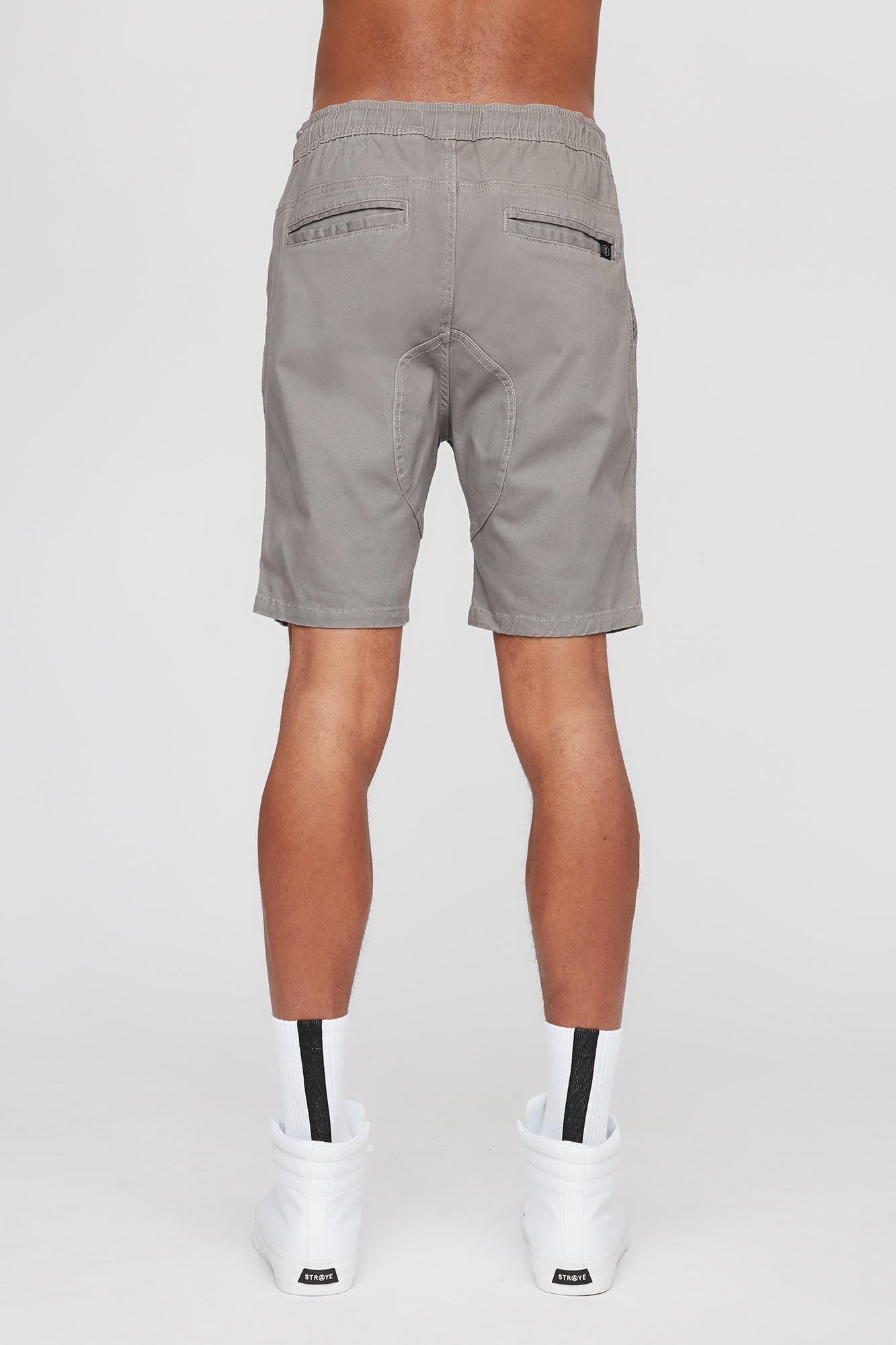 West 49 Guys Grey Gusset Jogger