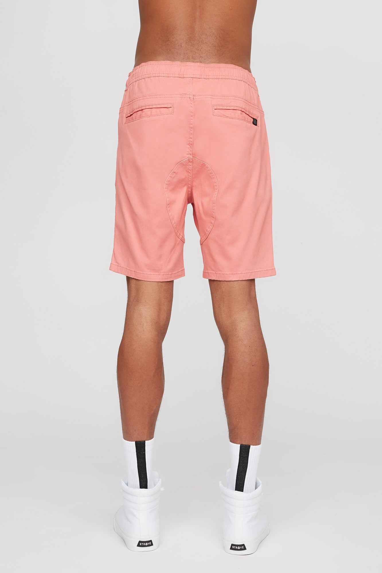 West 49 Guys Coral Rose Gusset Jogger
