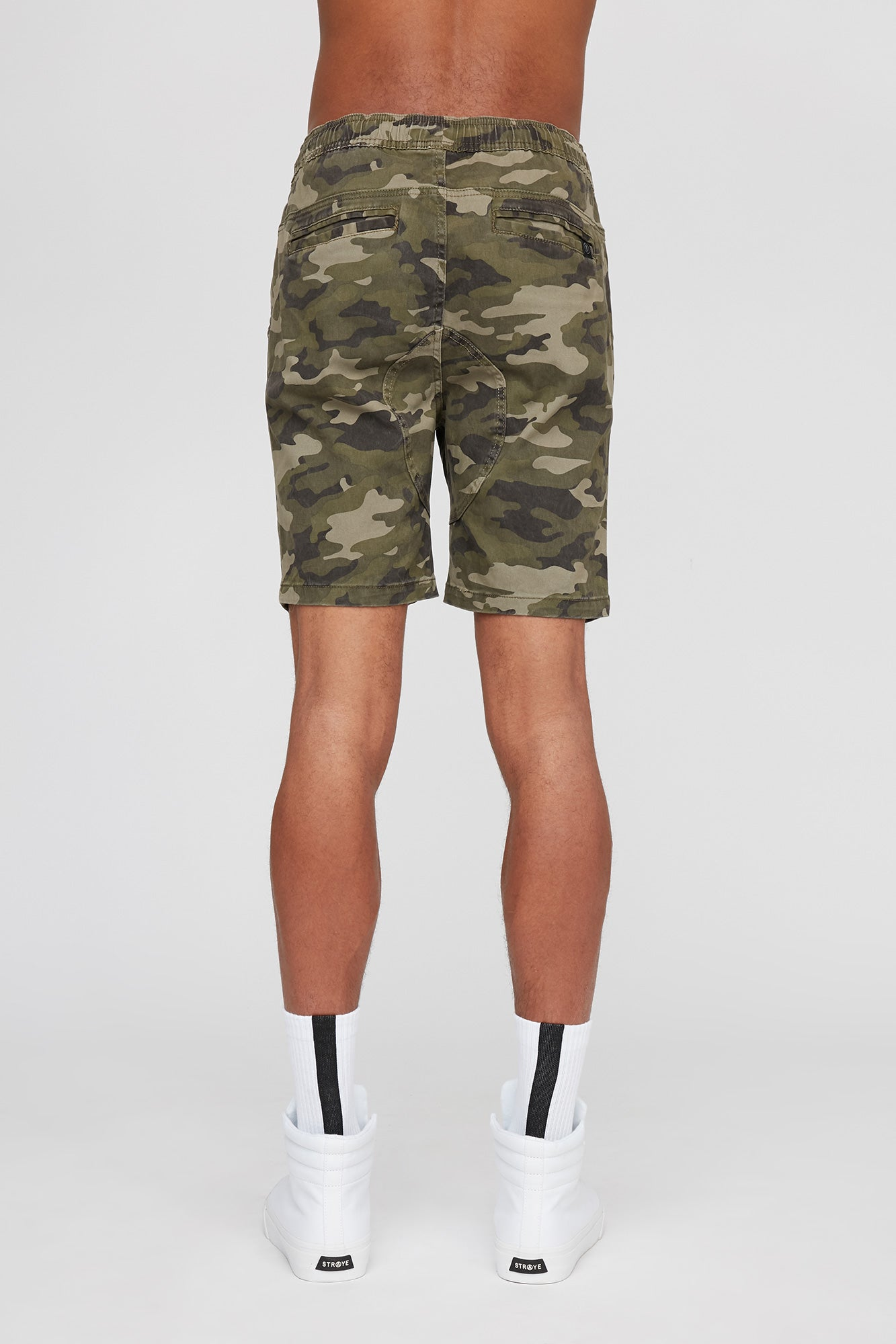 West 49 Guys Camouflage Gusset Jogger