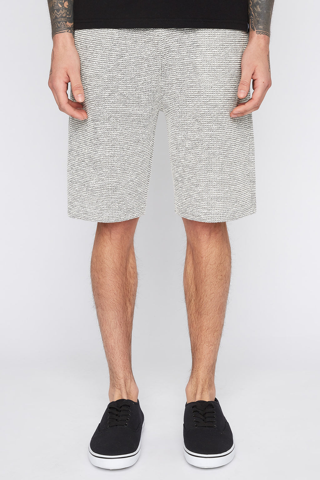 West49 Mens Textured Knit Shorts