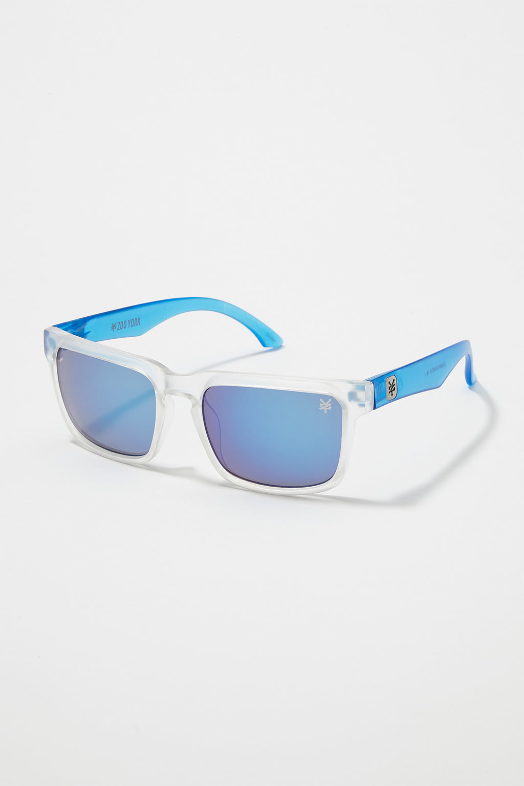Zoo York Mens Clear Square Sunglasses